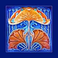 71 Art Nouveau tile by Marsden (1902). Courtesy of Simon Cronk from his website: http://www.artnouveau.com.au. Buy as an e-card with a personalised greeting!