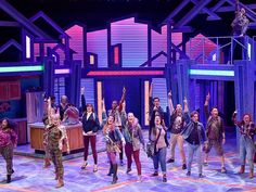 """""""Freaky Friday"""" is a new Disney musical with a familiar concept: What if a parent and child could switch places for a day, and see life through each other's eyes? Disney Films, Disney S, Freaky Friday Musical, Santa Ynez Valley, Richard Rodgers, Jodie Foster, Popular Girl, Young Actors, Scenic Design"""