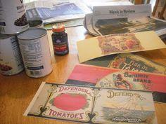 Fine Fettle: Vintage Can Label Craft