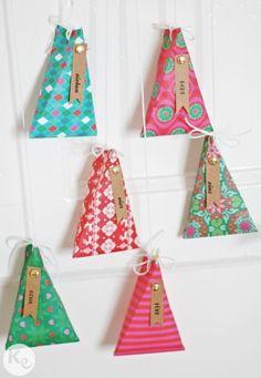 DIY. Advent calendar #christmas