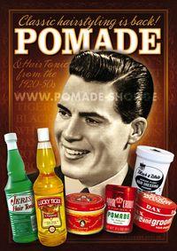 "Poster ""POMADE"" - Pomade Shop"
