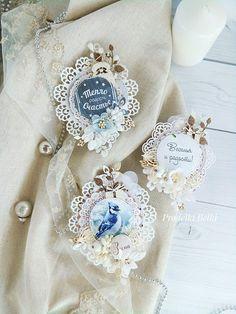 Prodelki Belki: Декоративные прищепки-снежинки или идея упаковки подарков