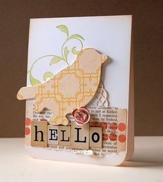 Cute DIY card @Kira Kira Guidry
