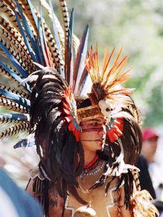 Aztec headdress.