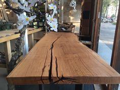 Table En Chene Brut.42 Meilleures Images Du Tableau Table Chene Noyer Brut En