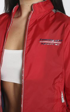 TOMMY HILFIGER - Frankie Collective Twin Sisters, Vintage Shops, Tommy Hilfiger, Twins, Athletic, Jackets, Outfits, Shopping, Collection