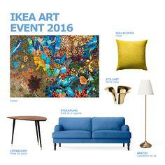 Inspiração IKEA Art Event 2016. #decoração #arte #fotografia #IKEAPortugal