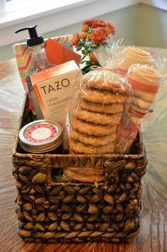 welcoming New Neighbors/gift baskets