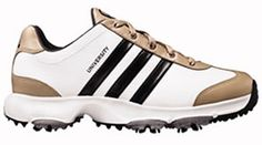 adidas 08 University Golf Shoe FEATURES: 1-year warranty Leather upper combines beauty and durability Injection-molded EVA midsole reduces midsole weight by 20% to reduce fatigue and increase comfort Clog-resistant DTAC spikes prov http://www.comparestoreprices.co.uk/golf-shoes/adidas-08-university-golf-shoe.asp