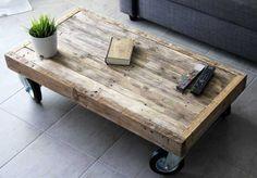 Pallethouten salontafel model 3 3