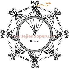 hairpin lace motif