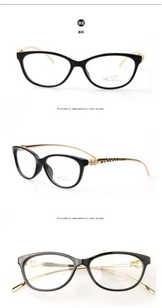 83320fb3da6 New Design Leopard Head Plain Eye glass Men Women Optical Make Myopia Eyeglasses  Frame oculos de grau femininos A0028-in Eyewear Frames from Men s Clothing  ...