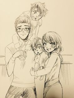 Tomeo, Maemi, Dashi, and Hiro <<< Oh nooo, too many feels for my heart to handle...