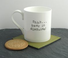 Vodka in disguise mug cup. Vodka themed gift Fun and quirky gift for men or women. Coffee tea mug cup. there's vodka in here Personalised Gifts For Him, Personalized Mugs, Gifts For Dad, Quirky Gifts, Unique Gifts, Best Gifts, Vodka, Craft Beer Gifts, Alcohol