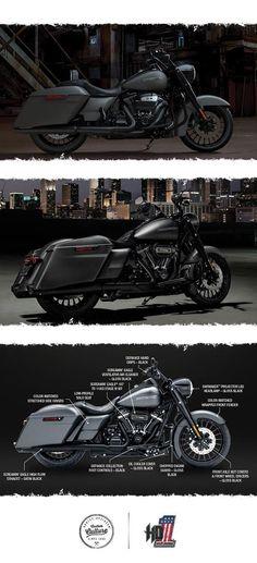 All hail the King. | 2017 Harley-Davidson Road King Special #harleydavidsonstreetglidecustom