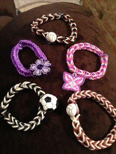 Bat Mitzvah Gifts - http://www.bmmagazine.com/home/bat-mitzvah/bat-mitzvah-gifts - Rainbow loom bracelets