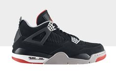 Nike Air Jordan 4 Retro - Schwarz-Rot