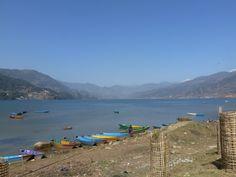 Pokhara lake, Nepal #idowhatiwanto