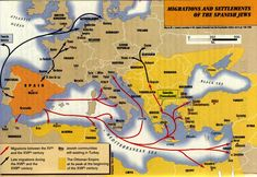 Sepharadic Migrations - Sefardische Joden - Wikipedia