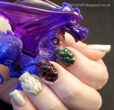 36 Best Game Of Thrones Nail Art Designs Images On Pinterest