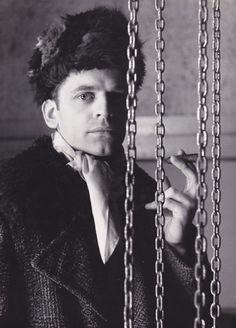Klaus Kinski by Hilde Zenker:  crazy as heck but definitely had style