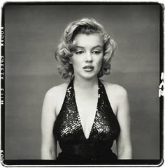 Marilyn Monroe caught off guard by Richard Avedon.
