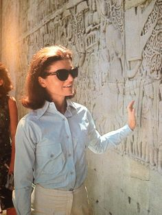 Jackie Kennedy Onassis in Cambodia