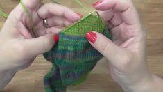 Kurz pletení ponožek -patový váček (6. díl) Knitting socks