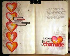 #papercraft #artjournaling Caro / Art journal # 12