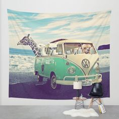 NEVER STOP EXPLORING THE BEACH Wall Tapestry by Monika Strigel | Society6