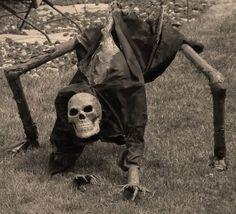 Yard Creepy Halloween Decorations