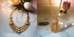 Tanishq Divyam Jewellery - I like the left one. its a beatiful necklace...