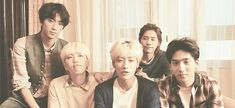 B1A4   Gongchan being a cutie with Sandeul lol this is not the time! (gif)