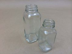 Square Glass Bottles Both Attractive and Functional