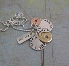 Personalized Mothers Necklace - FAMILY MEDLEY