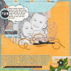 These cousins love spending time together!!  I hope they will always love that! I used Digital  BESTIES-a great new Collab by JB Studio, Amanda Yi, Juno and Two Tiny Turtles-found here:  http://store.gingerscraps.net/Digital-Besties-Collab-by-B-Studio-Amanda-Yi-Juno-and-Two-Tiny-Turtles.html and a template from Cornelia for the Template challenge at Gingerscraps!