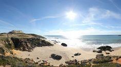 360º Virtual Visit to Praia da Ilha do Pessegueiro, Portugal - via www.visitasvirtuais.com