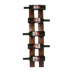 Have to have it. 2 Day Designs Reclaimed 5-Bottle Wall Mounted Wine Rack $97.98