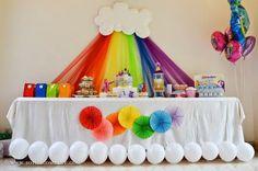 decoración de mesas de niña para cumpleaños - Buscar con Google