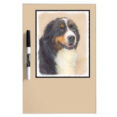 #Bernese Mountain Dog Dry-Erase Board - #bernese #mountain #dog #puppy #dog #dogs #pet #pets #cute #bernesemountaindog