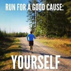 Run for yourself