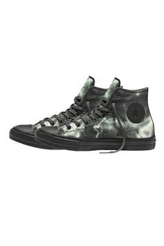 Converse First String Chuck Taylor All Star II Marble Hi Top Black #Converse #ConverseFirstString #ChuckTaylor #Surrenderstore #ss16 #Surrenderous