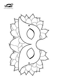 children activities, more than 2000 coloring pages Coloring For Kids, Coloring Books, Coloring Pages, Paper Toys, Paper Crafts, Mask Drawing, Preschool Education, Mardi Gras, Crafts For Kids