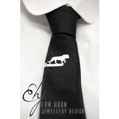 Lion Tie Clip in Sterling Silver– Big 5 Big 5, Tie Clip, Lion, Africa, Sterling Silver, Stuff To Buy, Fashion, Leo, Moda