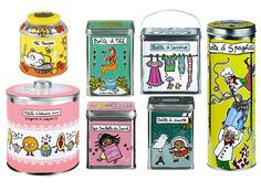 Tins from French Bazaar