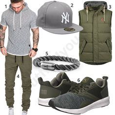 Grau-Khaki Stree-Style für den Sommer für Männer #adidas #cap #adidas #newera #weste #frühling #outfit #style #herrenmode #männermode #fashion #menswear #herren #männer #mode #menstyle #mensfashion #menswear #inspiration #cloth #ootd #herrenoutfit #männeroutfit