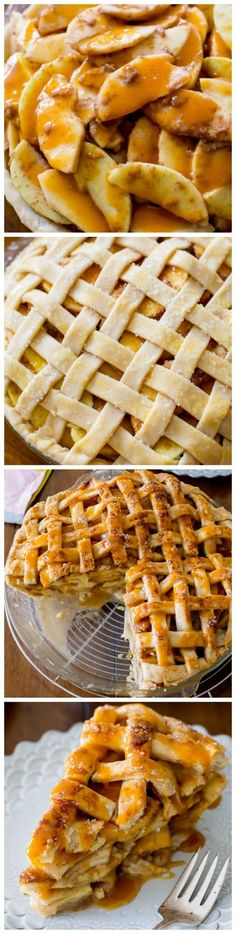 This Salted Caramel Apple Pie recipe will be your new FAVORITE!