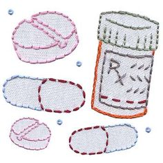 Medicine cabinet embroidery patterns from sublimestitching.com $5 @Dr.House