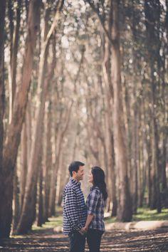 Rachel and Adam: Presidio Engagement Photo Shoot by Kien Lam photography