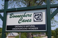 Bonnechere Caves Eganville Ontario. Ottawa Valley caves and caverns